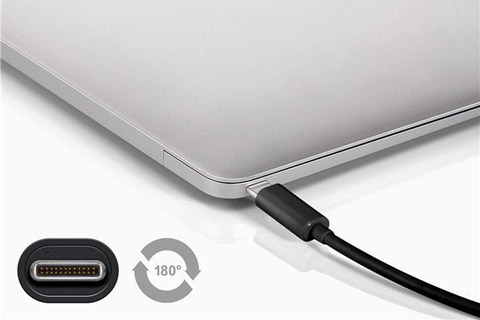 Goobay USB 3.2 Gen 2x2 SuperSpeed kabel (USB C - C han) - Lifestyle