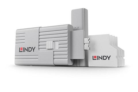 Lindy SD Port Blocker med nøgle