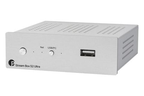 Pro-Ject Stream Box S2 Ultra, sølv