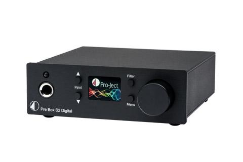 Pro-Ject Pre Box S2 Digital, black