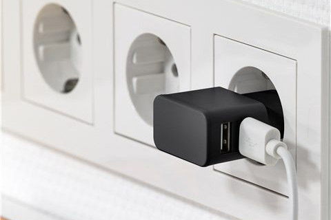 Goobay USB oplader - 2,4 Amp