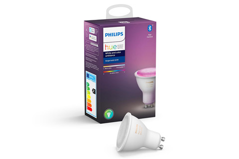 Philips Hue White and Color ambiance, GU10 with bluetooth