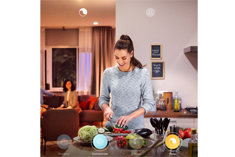 Philips Hue White Ambiance GU10 with bluetooth