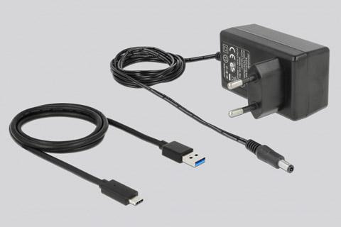 USB hub med 4 USB-A porte