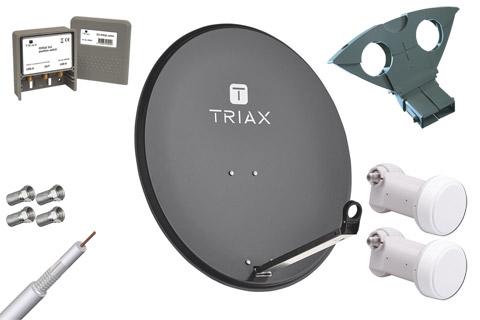 Triax TDS 80A parabolpakke A