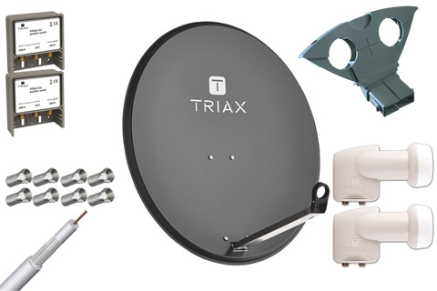Triax TDS 80A parabolpakke B