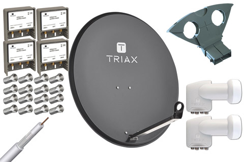 Triax TDS 80A parabolpakke C