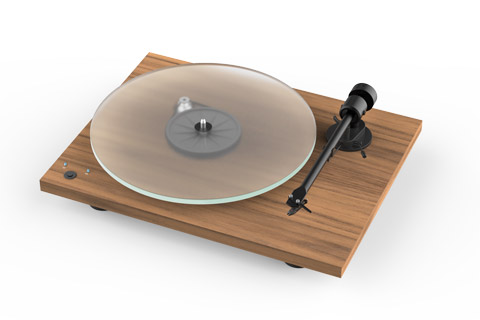 Pro-Ject T1 Phono SB turntable, walnut