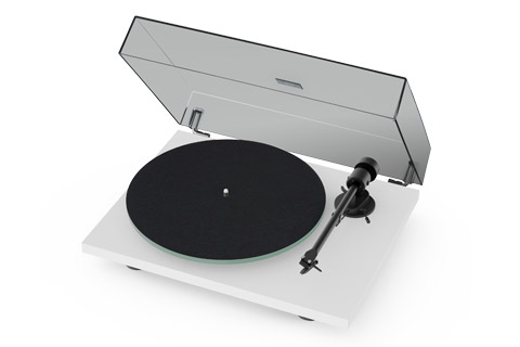 Pro-Ject T1 turntable, white satin