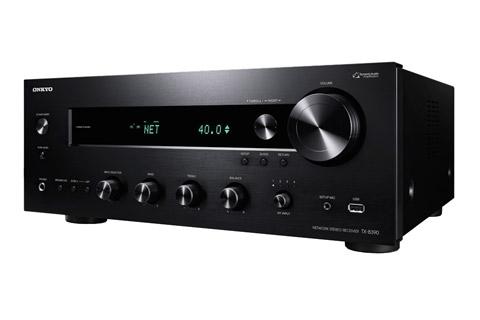 Onkyo TX-8390 stereo receiver, black