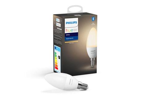 Philips Hue White E14 LED pære