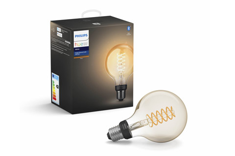 Philips Hue White E27 G93 filament pære