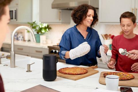 Bose Portable Home Speaker, lifestyle