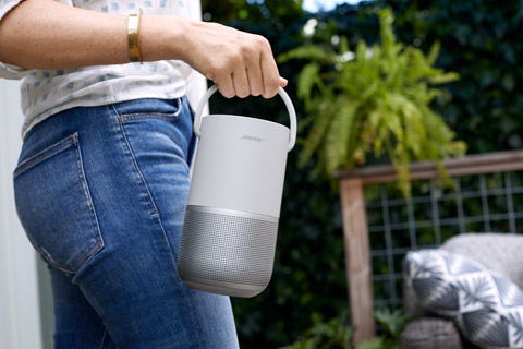 Bose Portable Home Speaker, lifestyle