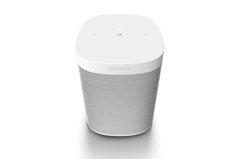 Sonos One SL mikrofon fri højtaler, hvid