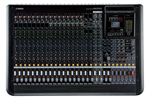 MGP24X mixer front