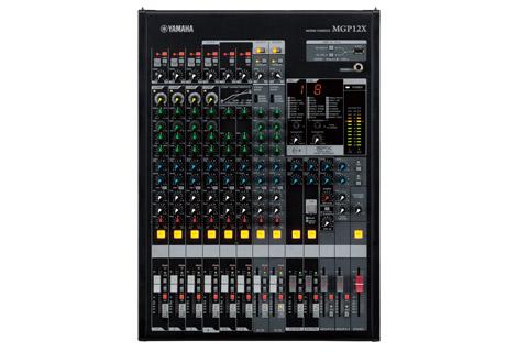 MGP12X mixer front