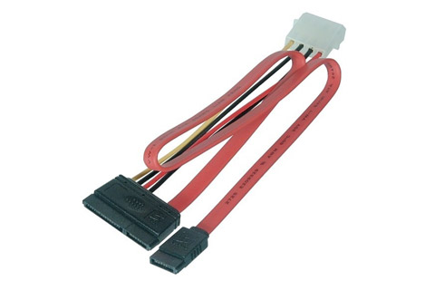 SATA power/data kabel, 0.50 meter