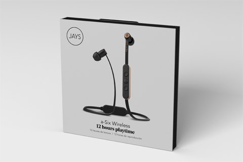 JAYS a-Six Wireless headphones, lifestyle