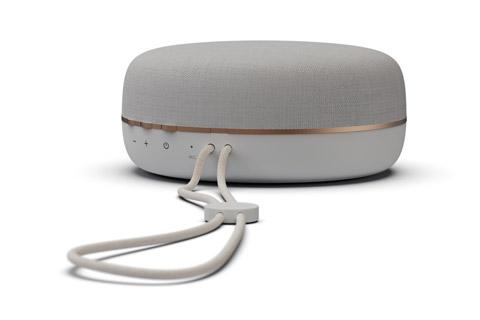 JAYS s-Go Three bluetooth speaker, white/gold