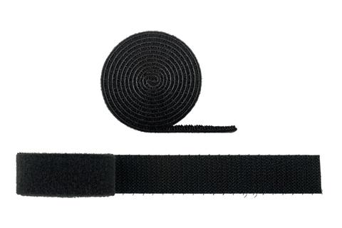 Goobay Velcrobånd i 1 meters ruller, 20 mm bred