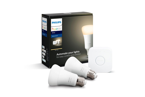 Philips Hue E27 Hue White starter kit BT