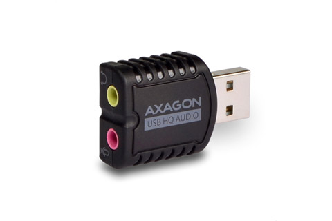 AXAGON ADA-17 USB 2.0 audio adapter for headphone/headset