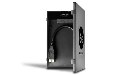 AXAGON ADSA-1S6 USB 3.2 Gen 1 Type A to SATA adapter with case