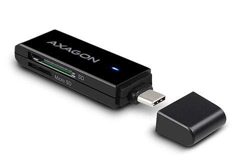 AXAGON CRE-S2C Multi card-reader for USB-C 3.2 Gen 1