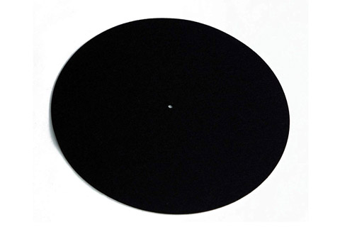 REGA Turntable wool mat - Black