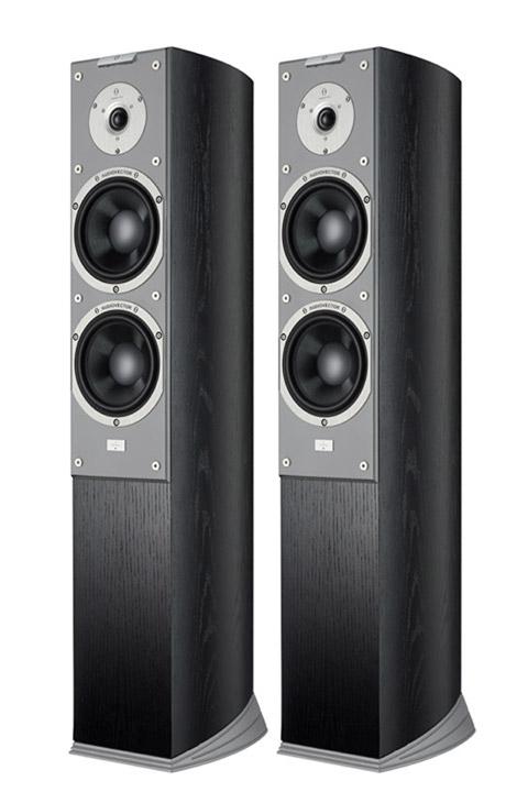 Audiovector SR 3 Super gulv højttaler, sort ask demosæt