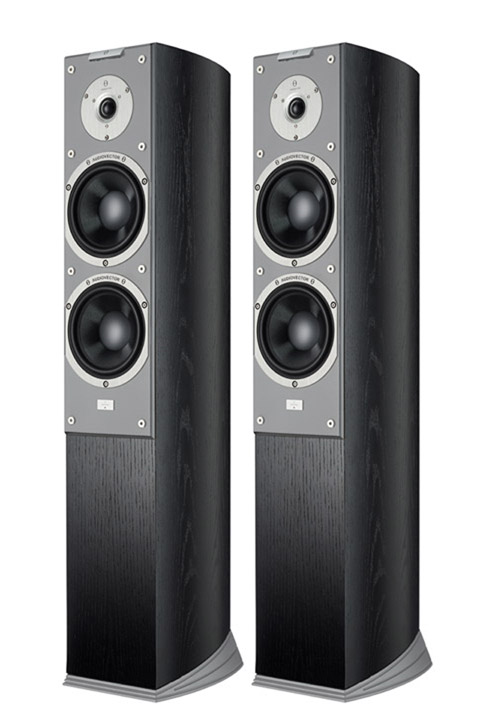Audiovector SR 3 Super, Black Ash/silver baffle
