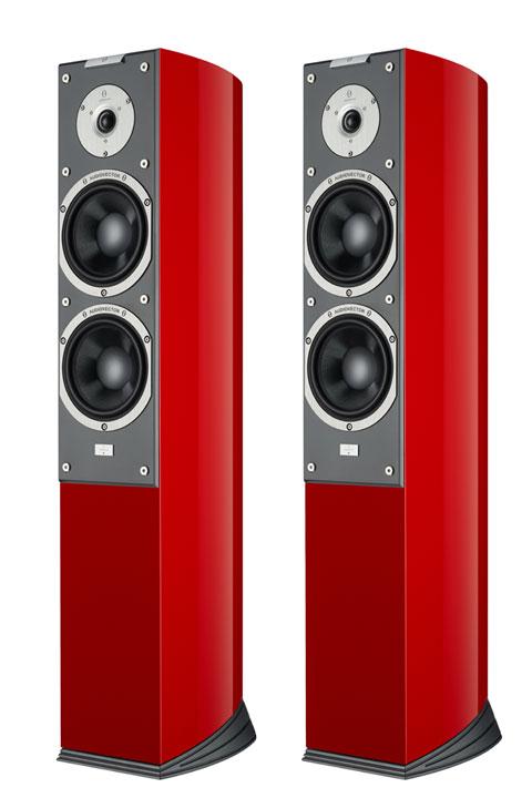 Audiovector SR 3 Super gulv højttaler, Italian red højglans demosæt