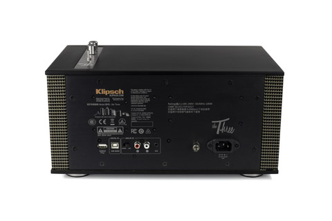 Klipsch Heritage The Three II speaker - Back black
