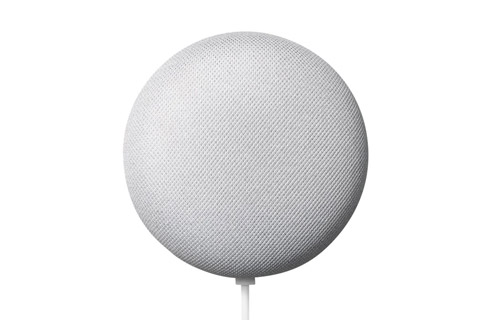 Google Nest Mini smart speaker, white