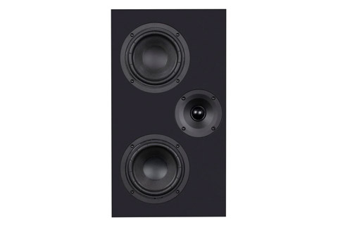 System Audio Legend 7 on-wall speaker, black satin
