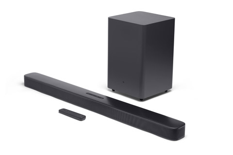 JBL Bar 2.1 Deep Bass soundbar with subwoofer