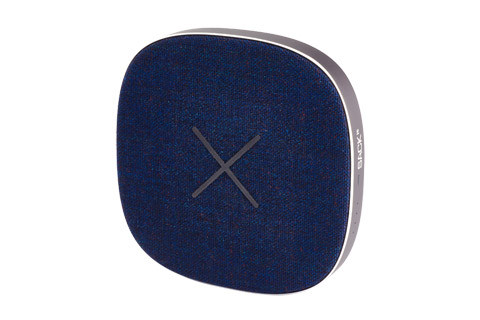 SACKit CHARGEit power bank front, navy