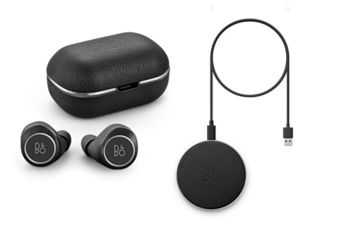Beoplay E8 2.0 + charging pad, sort