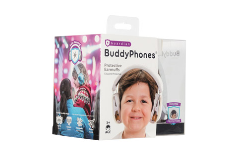BuddyPhones Guardian Packing