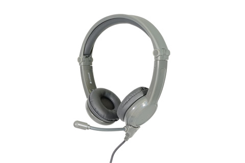 Buddy Phones Galaxy Gaming headphones, grey