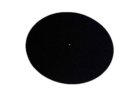 REGA Turntable wool mat - Black
