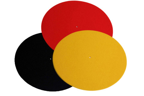 REGA Turntable wool mat - All