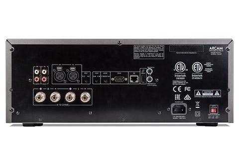 Arcam PA240 Poweramplifier - Back