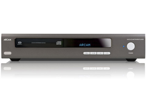 Arcam HDA CDS50 CD player and network player/streamer - Front
