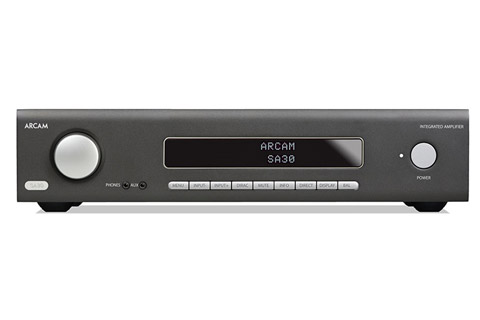 Arcam SA30 integrated amplifier (2x 120W, 8 Ohm), black