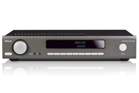 Arcam SA20 intergrated amp - Front