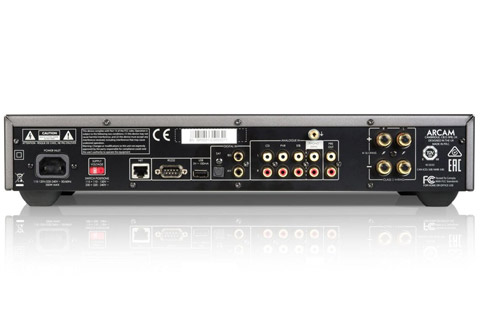 Arcam SA10 intergrated amp - Back