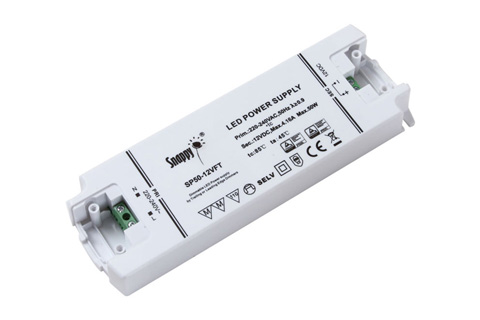 Snappy LED driver 12V 50W dæmpbar, back