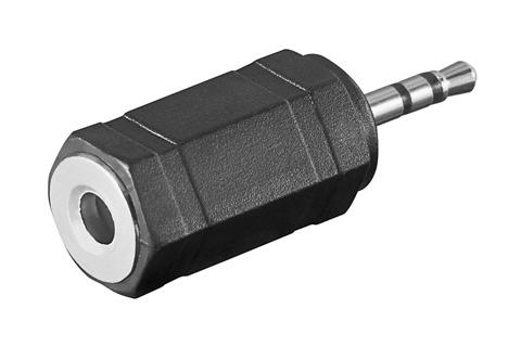 Stereo MiniJack til MikroJack adapter